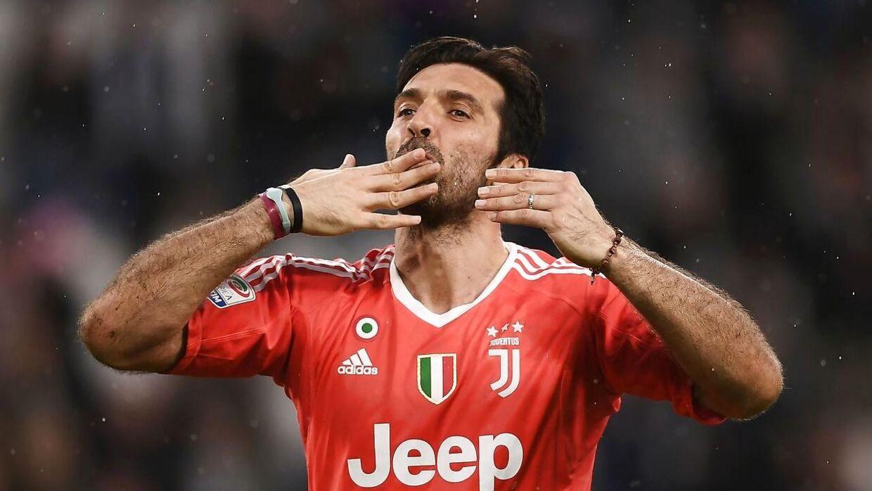 Gianluigi Buffon er snart færdig i Juventus.
