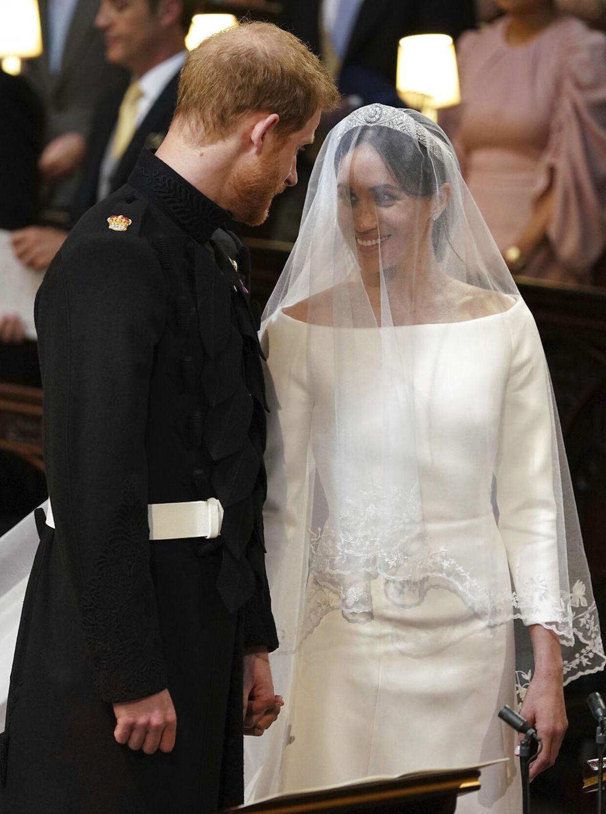 Prins Harry og Meghan Markle.