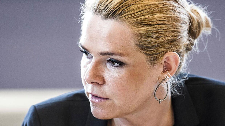 (ARKIV) Udlændinge- og integrationsminister Inger Støjberg (V).
