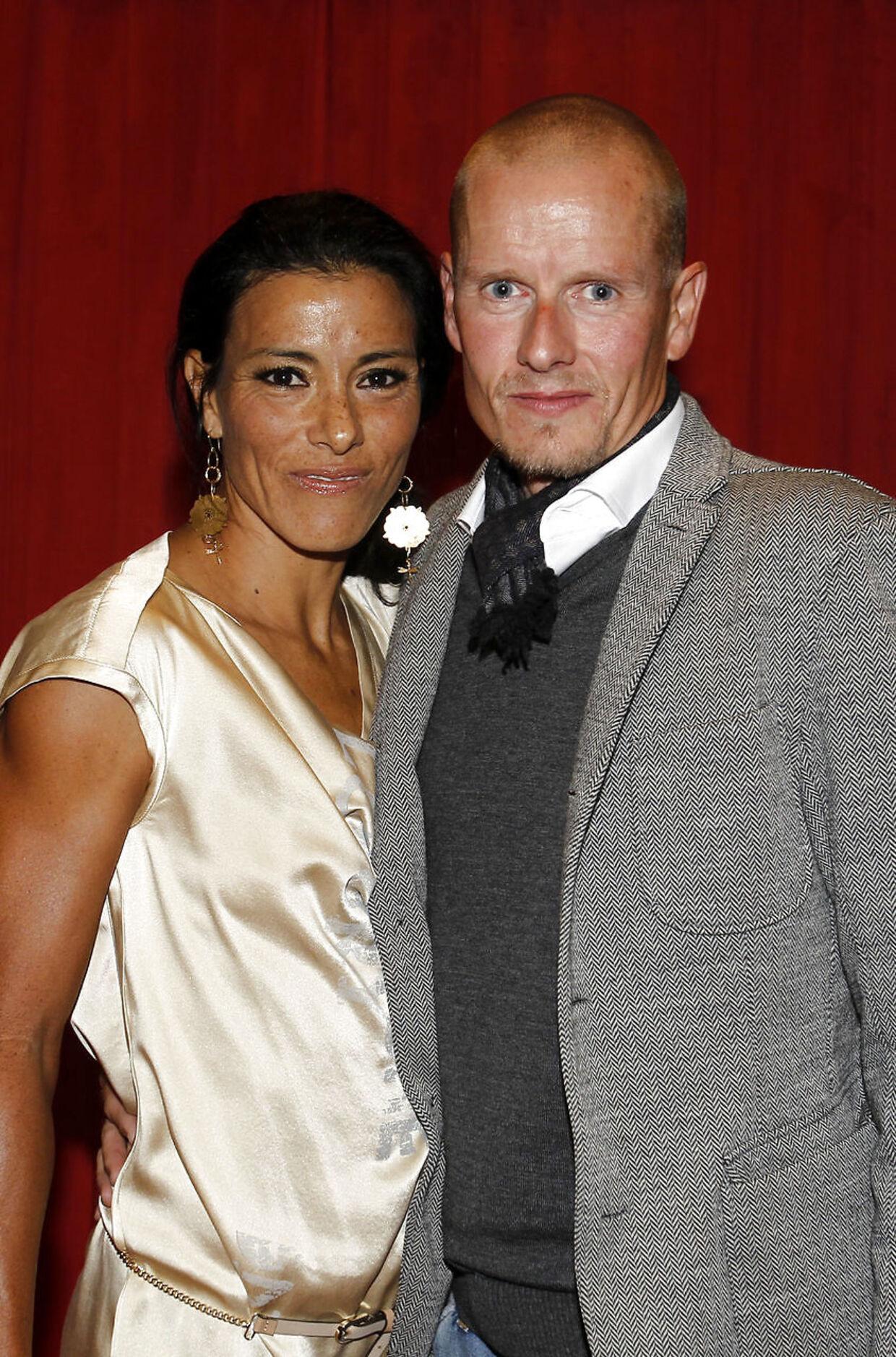 Michael Rasmussen og den daværende hustru Cariza i forbindelse med hans deltagelse i 'Vild med Dans' i 2011.
