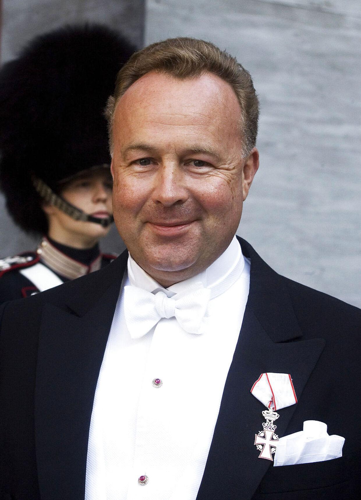 Hans Michael Jebsen er foruden at være en kendt erhvervsmand også hofjægermester.