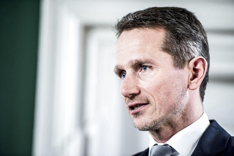 Finansminister Kristian Jensen.