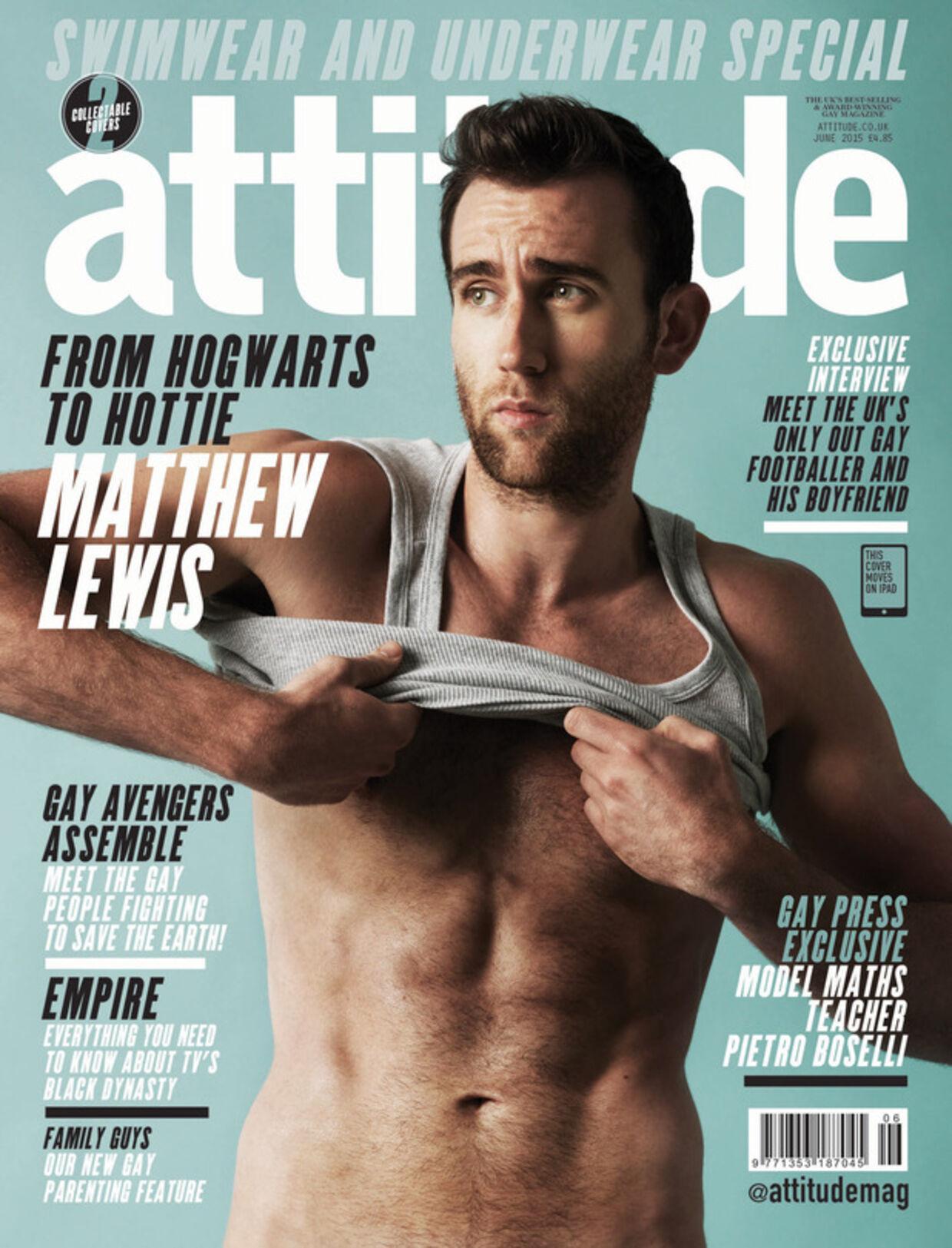 Matthew Lewis blev pludselig voksen, mens han spillede med i 'Harry Potter'-filmene. Og så blev han model.