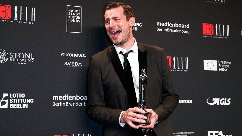Claes Bang vandt i 2017 en European Film Award.