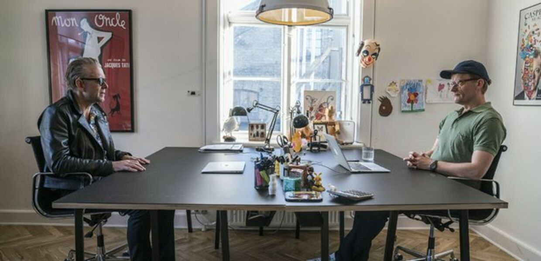Frank og Casper er tilbage med en ny sæson af 'Klovn', der har premiere på TV 2 til august.