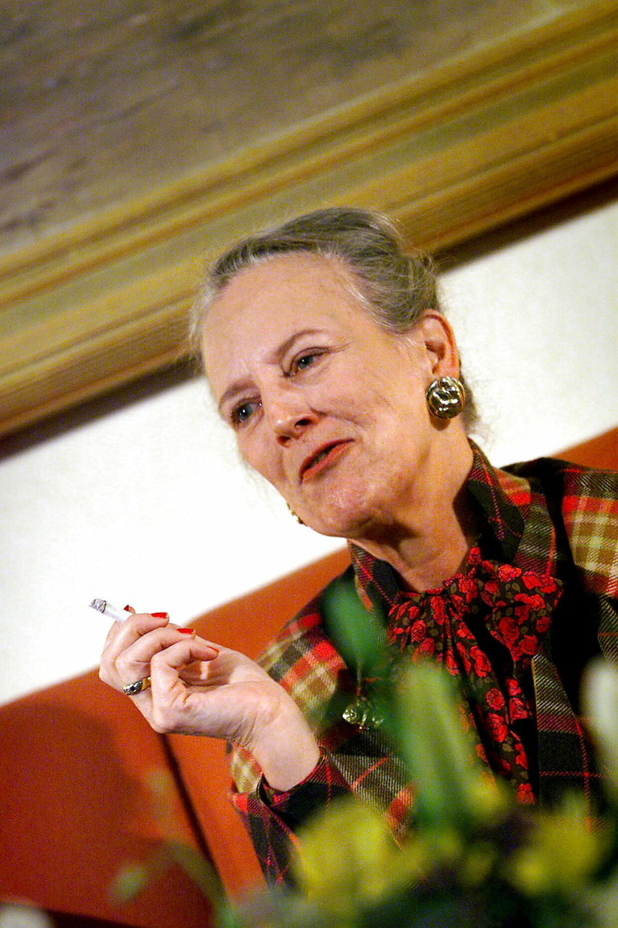 ARKIVFOTO af dronning Margrethe.
