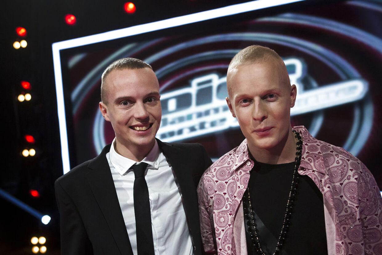 I 2012 stillede Andreas Odbjerg op i TV 2-programmet 'Voice - Danmarks største stemme' og kom sammen med sin mentor Xander i finalen.
