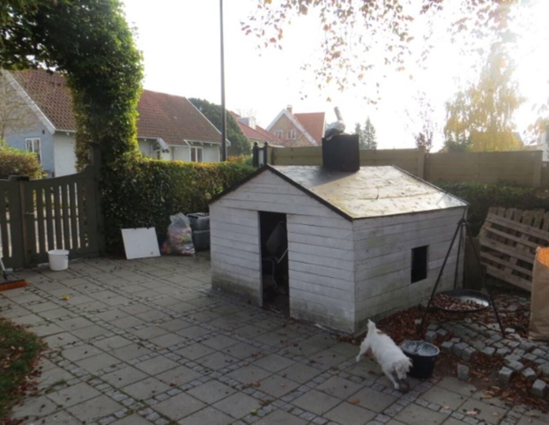 Københavns Kommune tvang familien Sørensen til at jævne deres legehus med jorden. Foto: Privat