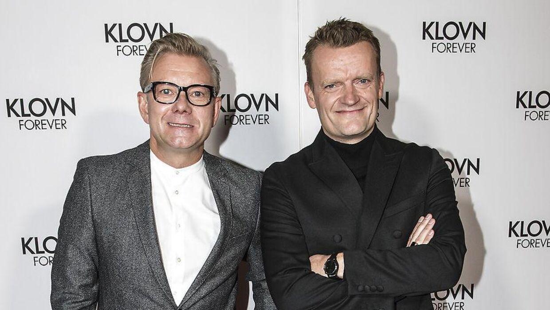 Rød løber på Klovn Forever - Casper Christensen og Frank Hvam