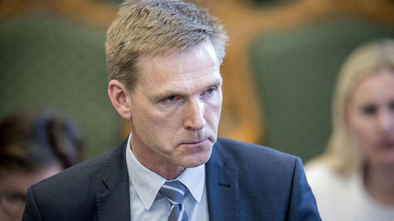 Kristian Thulesen Dahl (DF) mener ikke, at LA skal med i en eventuel blå regering efter næste valg. (Foto: Mads Claus Rasmussen/Ritzau Scanpix)