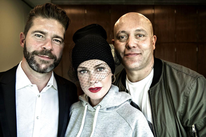 Aqua ønskede ligesom Lukas Graham heller ikke at tale med de danske ugeblade til onsdagens Grøn Koncert-pressemøde.