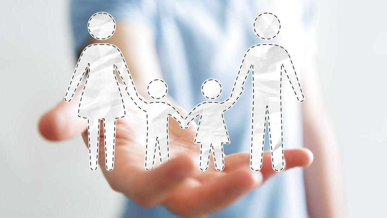 En sammenbragt familie bliver aldrig en kernefamilie.