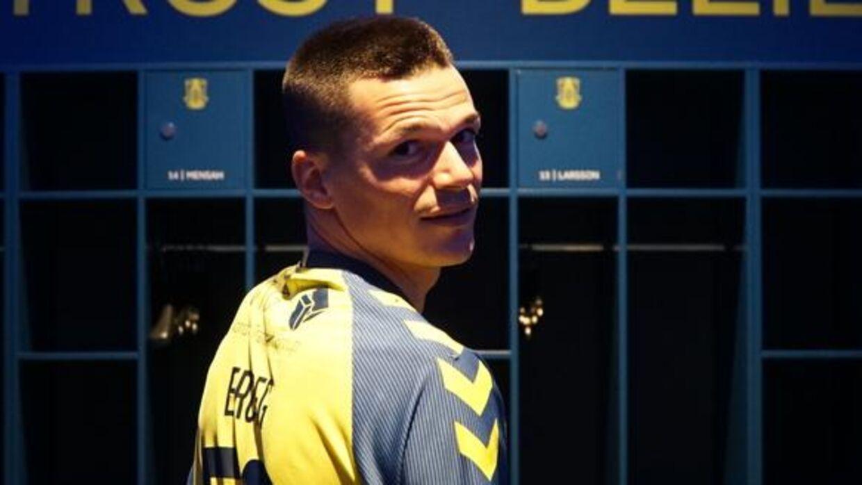 Ante Erceg er klar for Brøndby IF. (Foto: Brøndby IF)