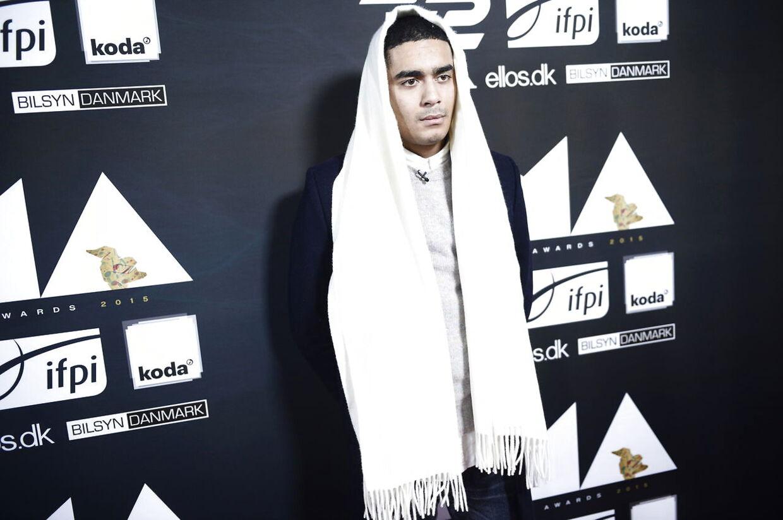 Kesi i forbindelse med Danish Music Awards et par år tilbage.