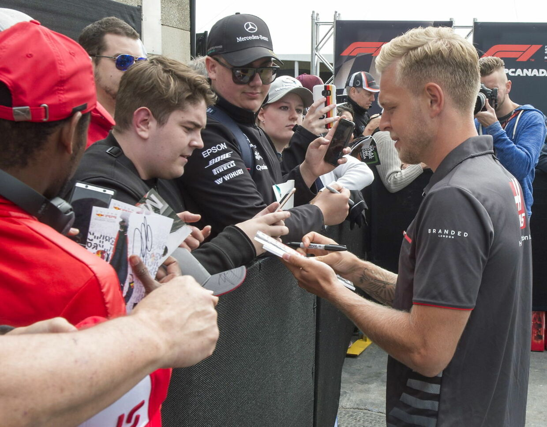 Kevin Magnussen i Montreal. (Ryan Remiorz/The Canadian Press via AP)