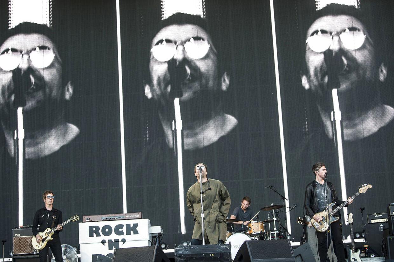 Liam Gallaghers ego blæst op på bagskærmen.
