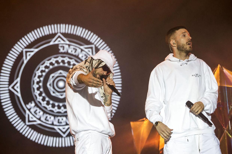 Nik & Jay på Northside 2018.