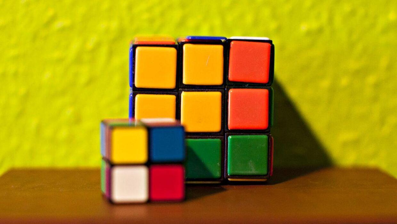 Rubiks terning.