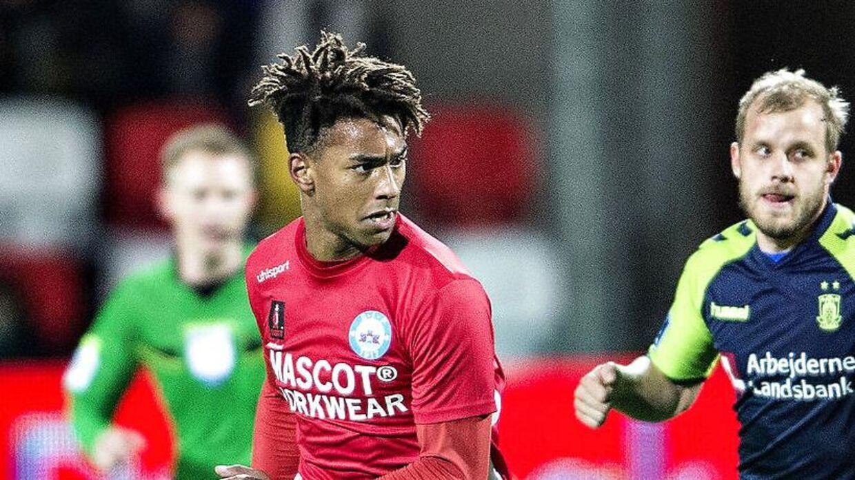 Silkeborgs Sammy Skytte skifter til FC Midtjylland. (Foto: Henning Bagger/Scanpix 2017)