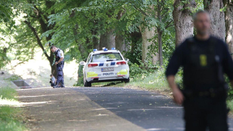 Politiet undersøger mistænkeligt forhold i Husum.