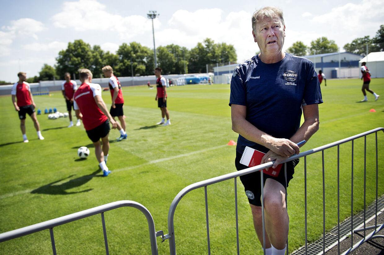 Landstræner Åge Hareide taler ikke med pressen onsdag og torsdag.
