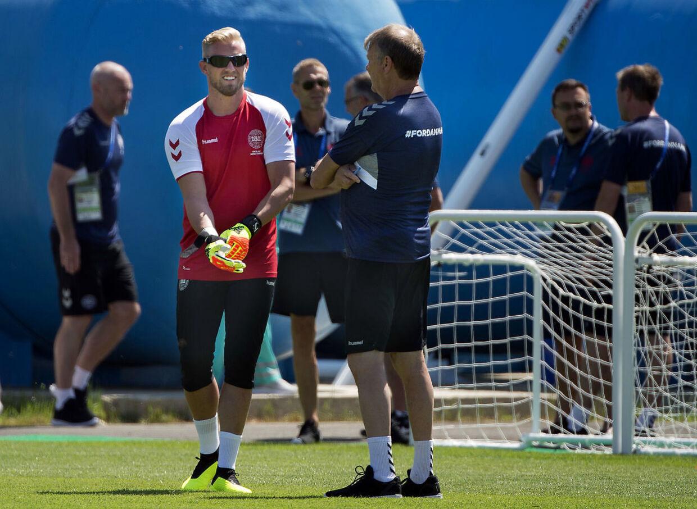 Landstræneren er tilbage bag mikrofonerne på fredag, når der er officielt pressemøde inden Danmarks første VM-kamp mod Peru.