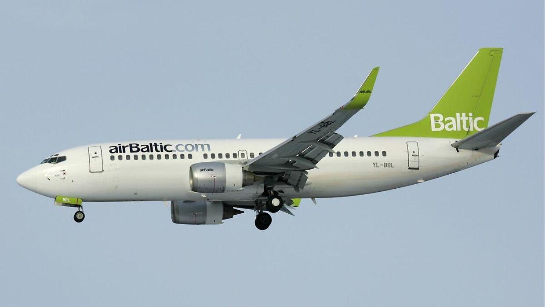 Det var en Boeing 737-300 som denne, der tidligere onsdag måtte sikkerhedslande i Kastrup.