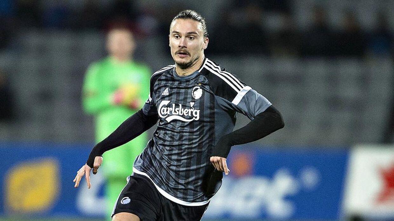 FCKs Erik Johansson ligner en mand, der snart er færdig i klubben.