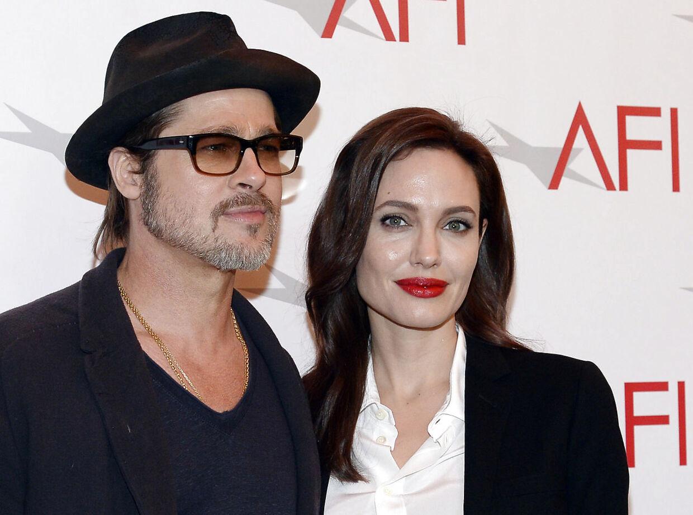 Angelina Jolie og Brad Pitt nåede at være gift et par år.