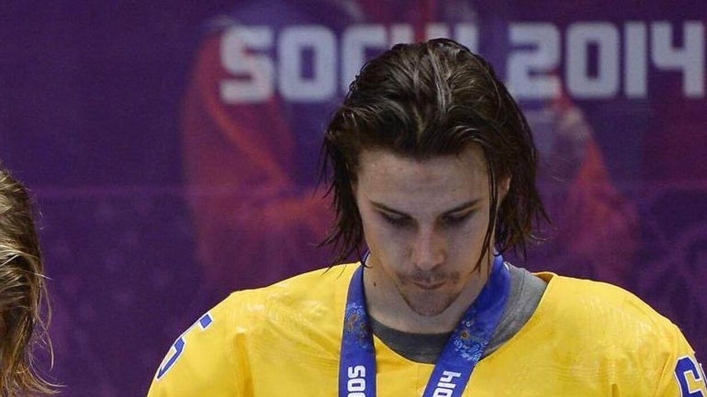 Den svenske NHL-stjerne Erik Karlsson er havnet i en speget sag. AFP PHOTO / JONATHAN NACKSTRAND