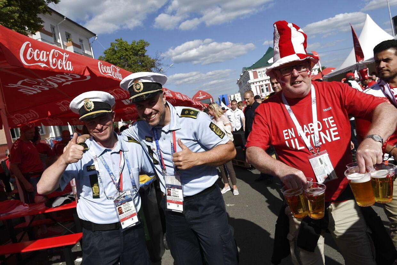 Det danske politi er også repræsenteret i Rusland.