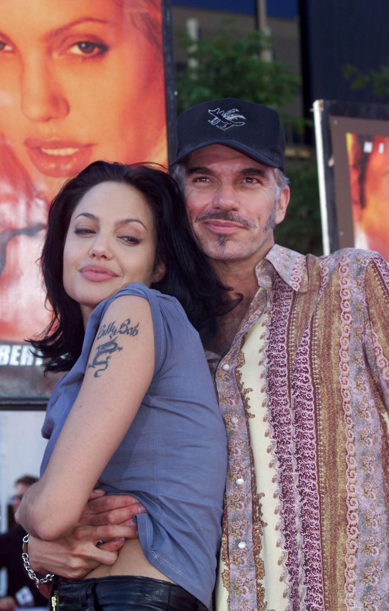Angelina Jolie og Billy Bob Thornton blev gift i 2000, da de var henholdsvis 24 og 44 år.