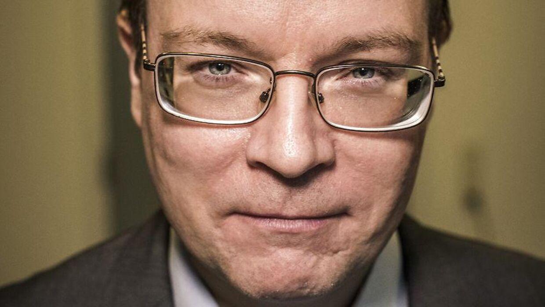 Kenneth Kristensen Berth (DF) har vakt stor debat på grund af at opslag på Facebook. Arkivfoto