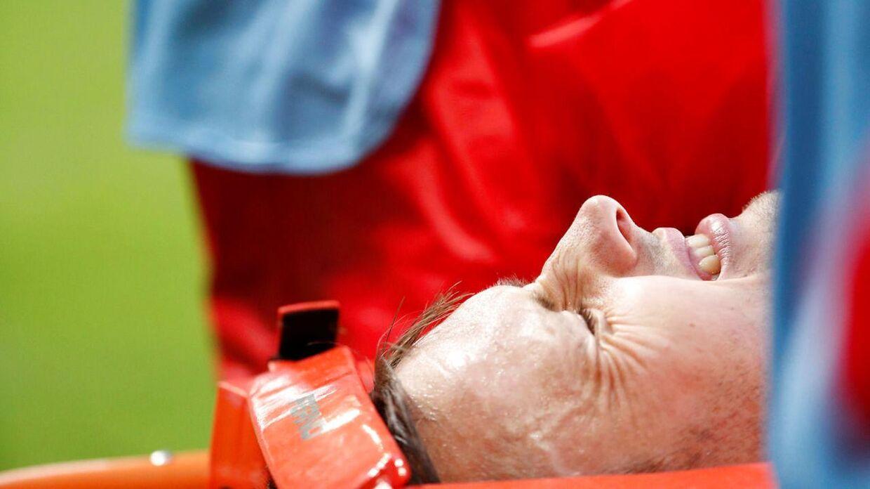 William Kvist brækkede to ribben og punkterede sin ene lunge i sammestødet med Perus Jefferson Farfan.