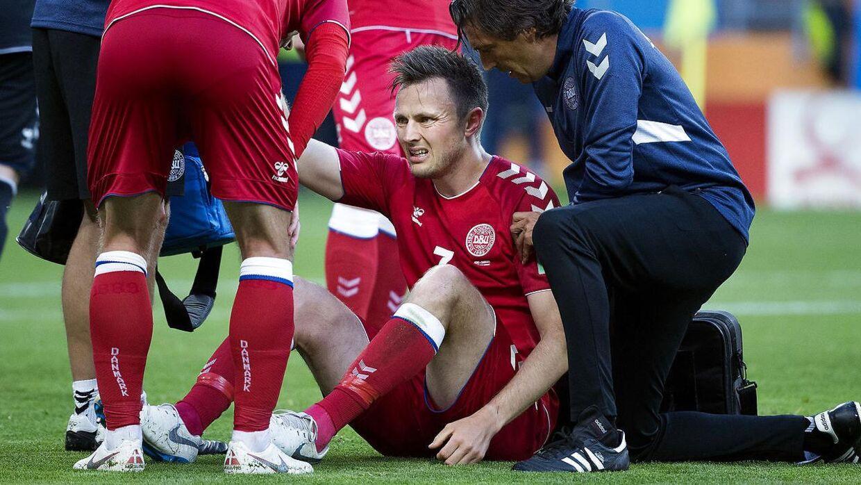 William Kvist er stadig håbefuld. Han er rejst til Danmark for at undersøge, om han kan blive klar, hvis Danmark når langt i turneringen.