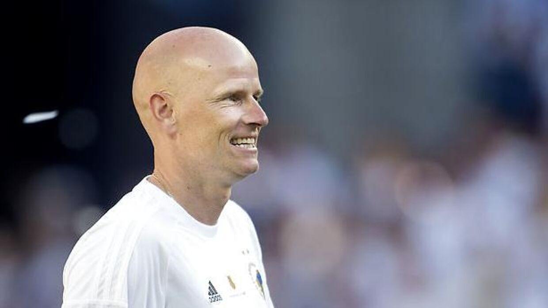 Efter at have sundet sig er FCK-manager Ståle Solbakken igen klar til at gå efter DM-guldet. (Foto: Liselotte Sabroe/Scanpix 2017)