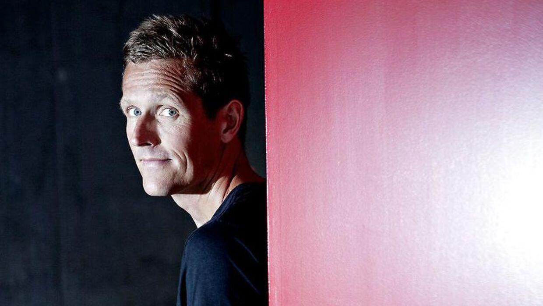 Peter Møller er vært på DRs VM-dækning.