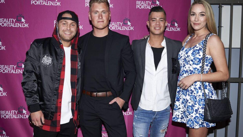 Lenny, Christian, Kenneth og Tanja (Foto: Janus Nielsen)
