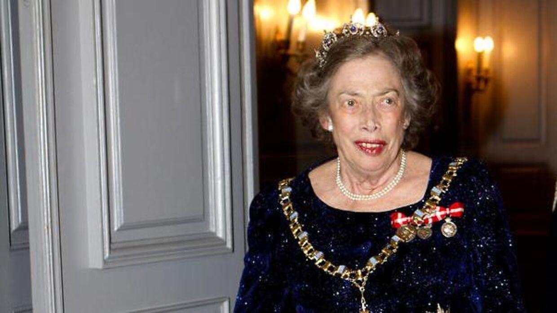 Prinsesse Elisabeth ved en nytårskur i 2012.