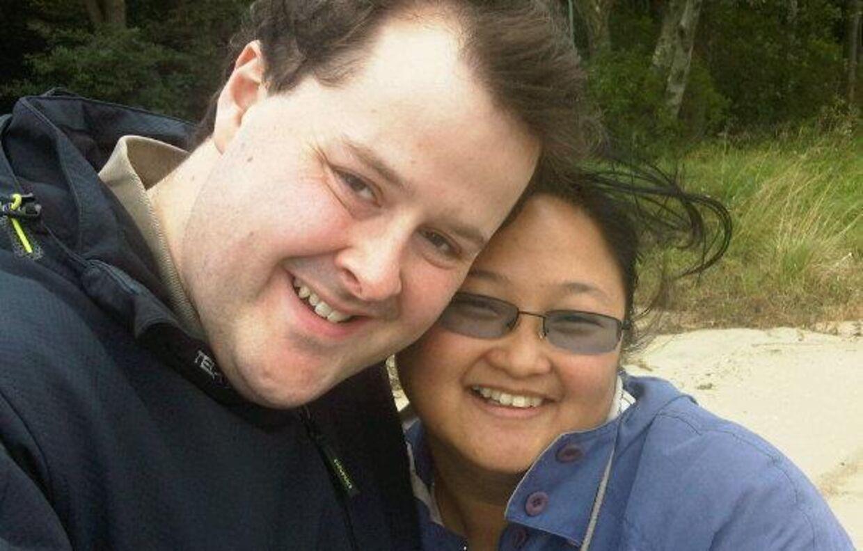 Michael Christensen og hans kæreste Francesca