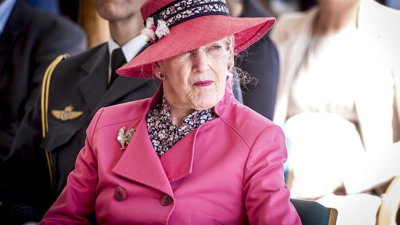 Dronning Margrethe måtte torsdag melde sig syg.
