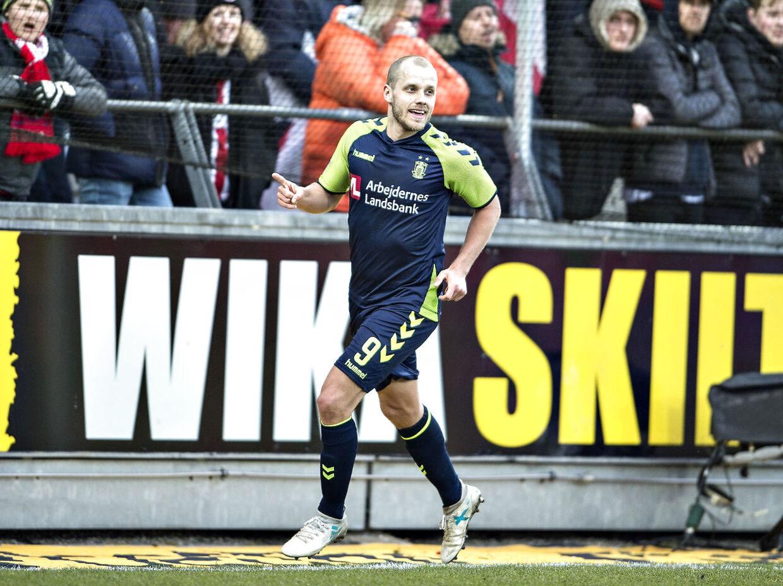 Teemu Pukki har været en af Brøndbys største profiler, siden han i 2014 kom til klubben fra den skotske storklub Celtic.