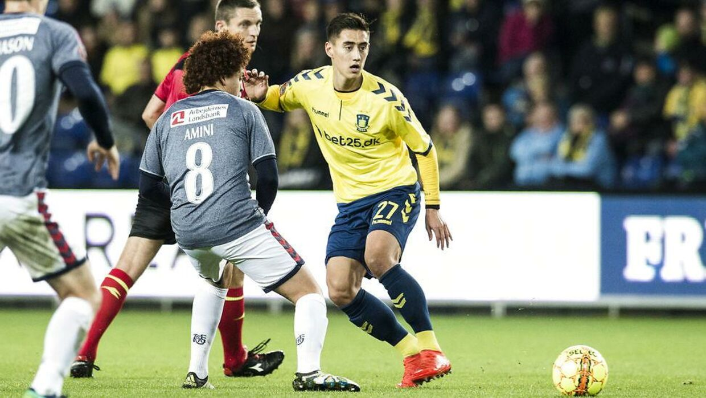 Svenn Crone er en af Brøndbys egne drenge og har været i klubben siden 2010.