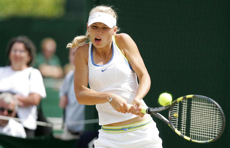 Caroline Wozniacki ved Wimbledon tilbage i 2006