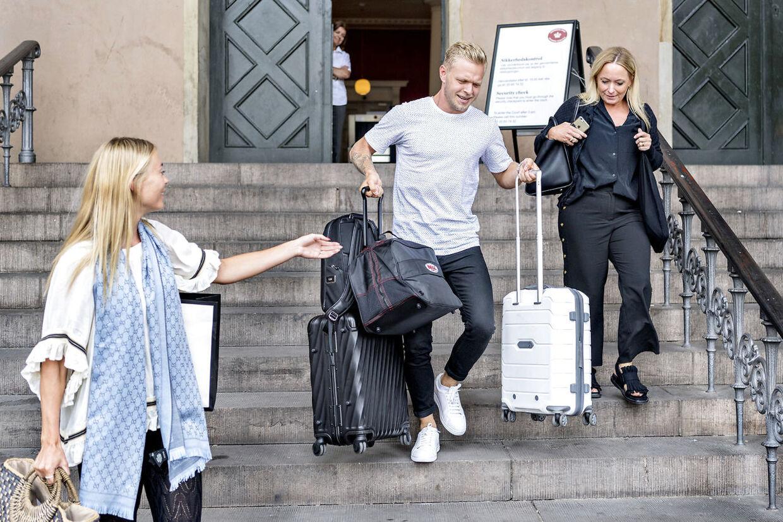 Kevin Magnussen mødte selv op i Københavns Byret tidligere på året. (Foto Bax Lindhardt)