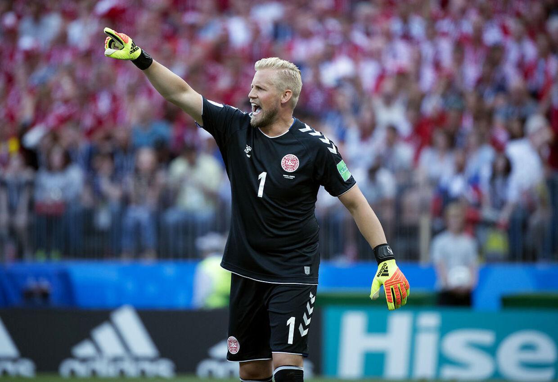 Kasper Schmeichel og Danmark gjorde det. Nu er resten af VM ren bonus, mener B.T.s fodboldkommentator. (Foto: Liselotte Sabroe/Scanpix 2018)