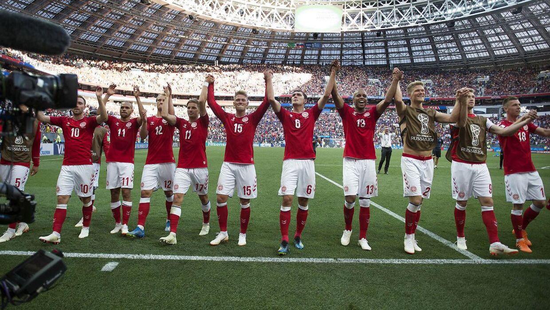 Det danske landshold er videre ved VM.