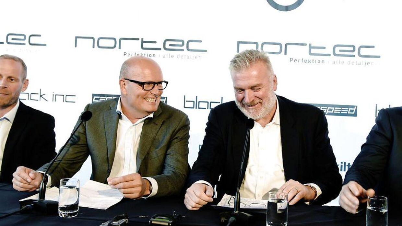 Bjarne Riis og Lars Seier Christensen