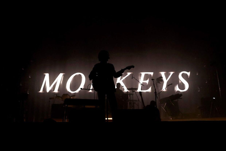 Arctic Monkeys tidligere på året til Primavera-festivalen i Barcelona.
