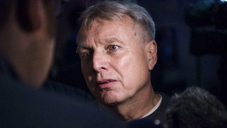 Uffe Elbæk, politisk leder af Alternativet og statsministerkandidat.